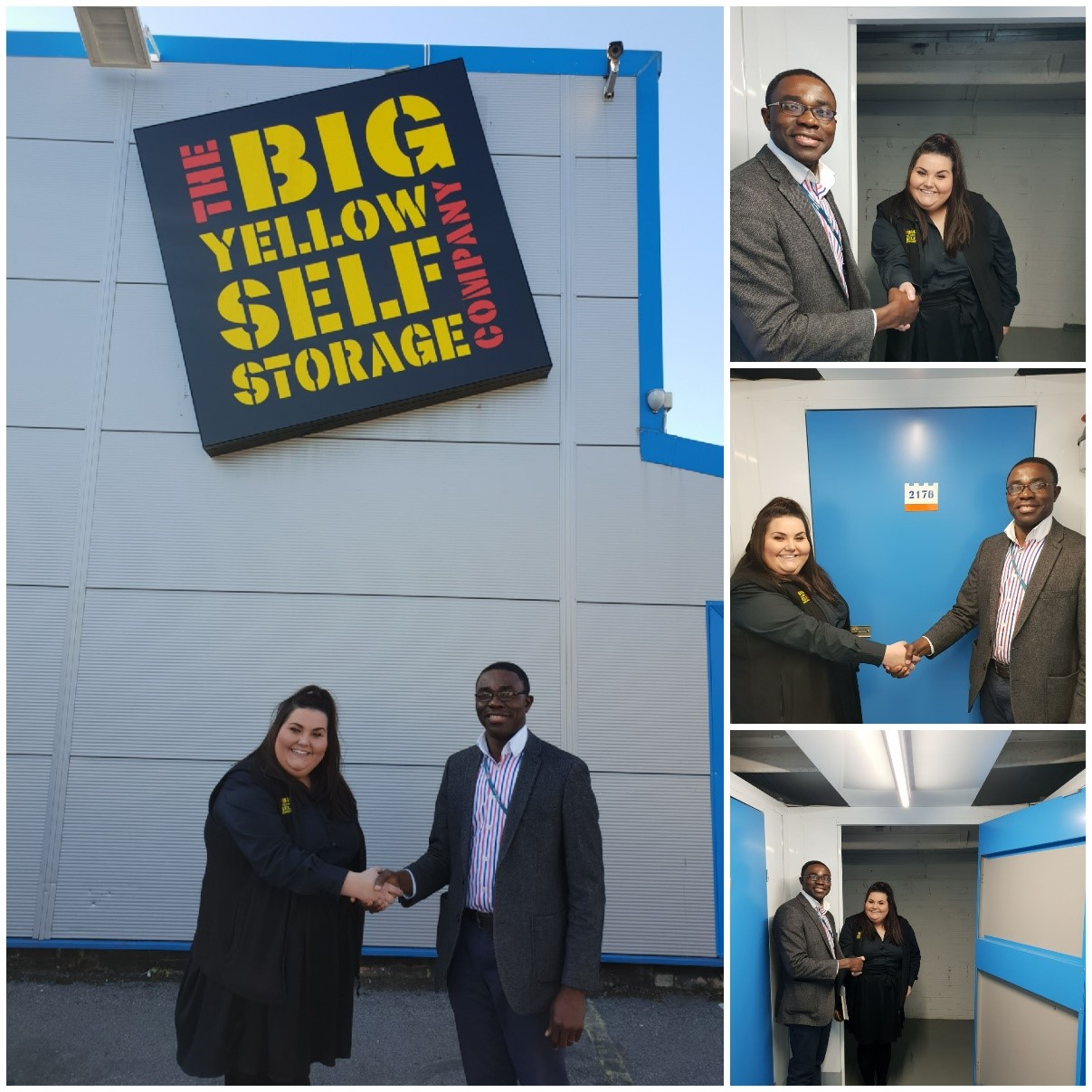 BIG YELLOW OXFORD OFFERS FREE STORAGE FACILITY TO REACT